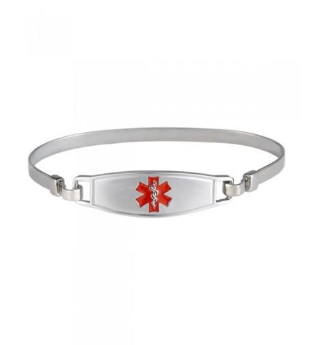 Divoti Engraved Elegant Titanium Bracelet