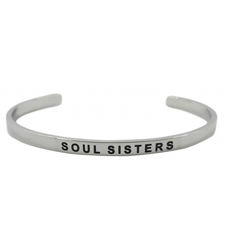 SISTERS FRIENDS Inspirational Friendship Bracelet