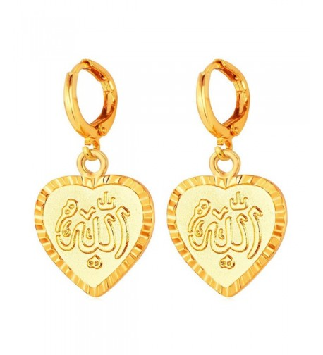 U7 Middle Muslim Jewelry Earrings
