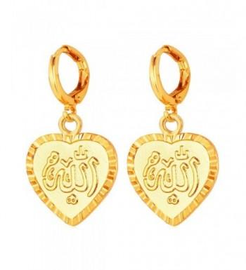 U7 Middle Muslim Jewelry Earrings