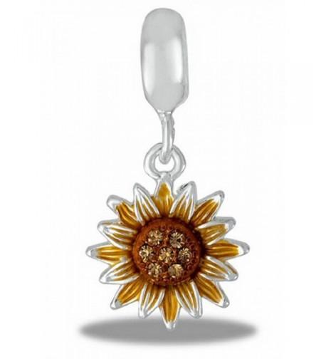 DaVinci Bead Davinci Sunflower Dangle
