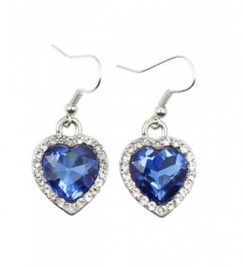 Sinlifu Titanic Jewelry Fashion Sapphire