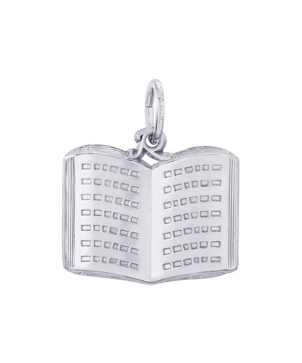 Rembrandt Sterling Silver Book Charm