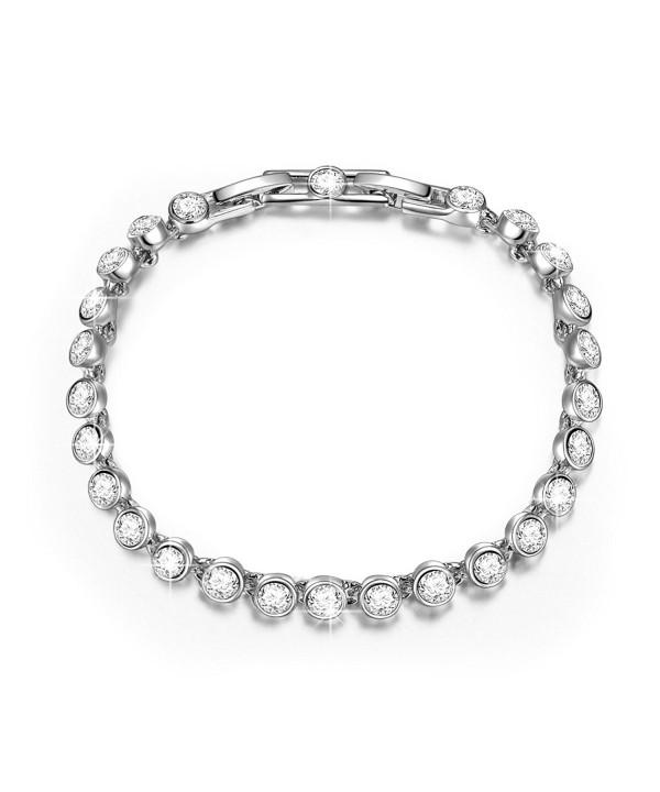 QIANSE Bracelet Swarovski Girlfriend Anniversary