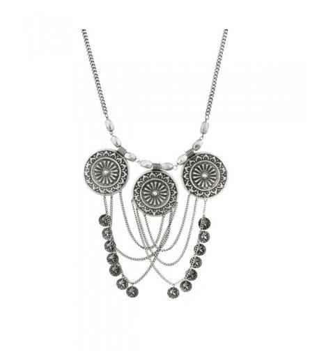Lux Accessories Republique Francais Necklace
