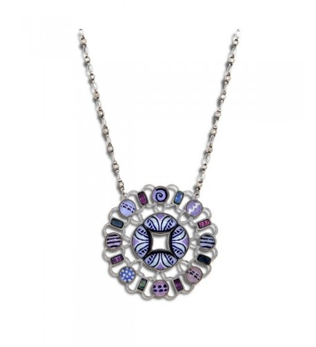 Yoolies Jewelry Lilac Blossom Fashion Necklace
