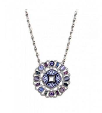 Yoolies Jewelry Lilac Blossom Fashion Necklace