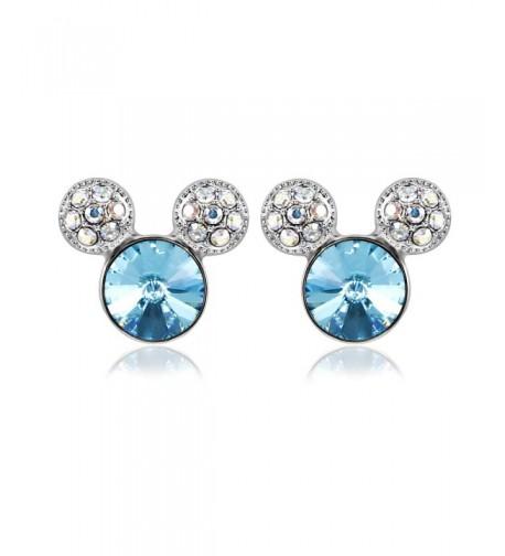 IUHA Colorful Earrings Swarovski Birthstone