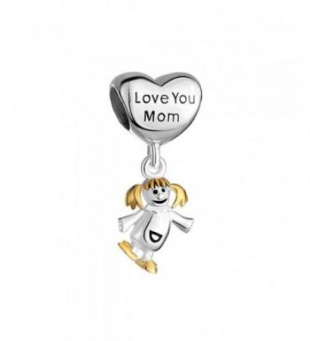 Locket Sterling Silver Daughter Bracelet