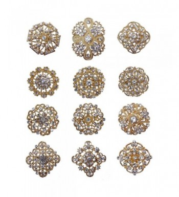 Crystal Brooches Floriated Rhinestone Corsage