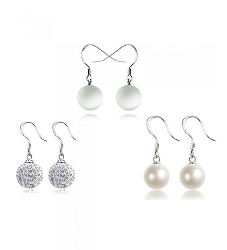 Injoy Jewelry Crystal Synthetic Earrings