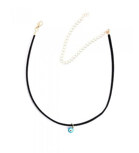 Fancymix Velvet Pendant Protection Necklace