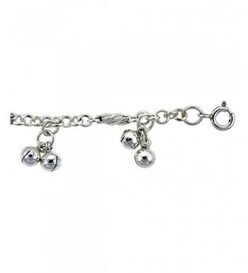 Sterling Silver Anklet Bells fits