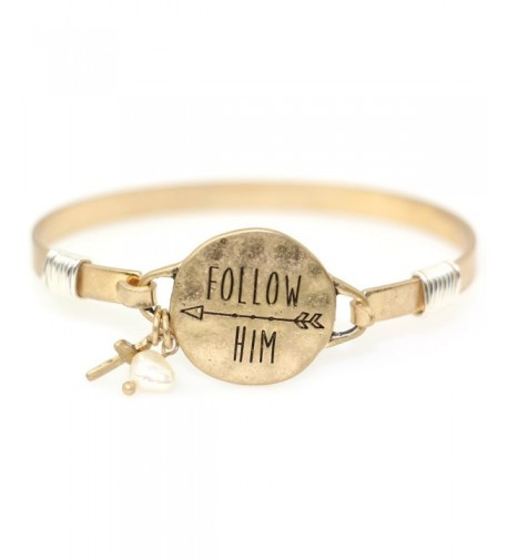 Follow Christian Bangle Bracelet Design