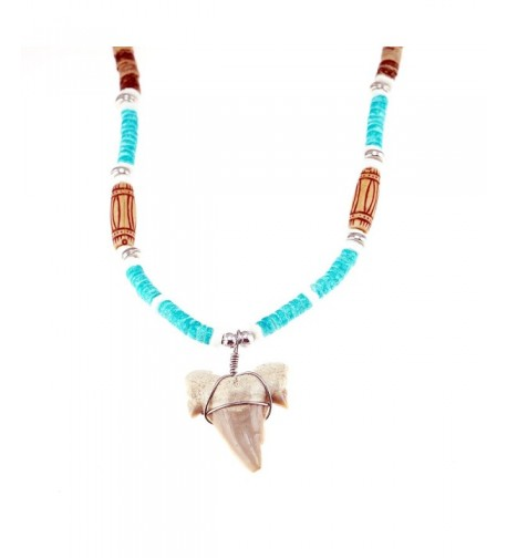 Pendant Coconut Beaded Necklace Shells