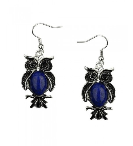 Liavys Owl Fashionable Earrings Lazuli