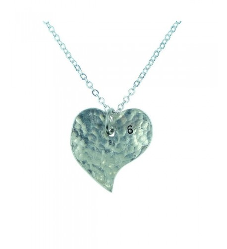 6th Year Anniversary Heart Necklace