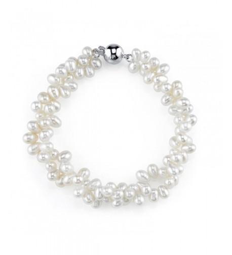 Shaped Freshwater Cultured Pearl Bracelet
