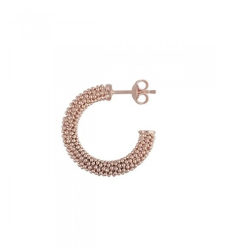 Designs Nathan Diamond Cut rose gold sterling silver