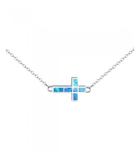 KELITCH Necklace Syuthetic Extension Sideways