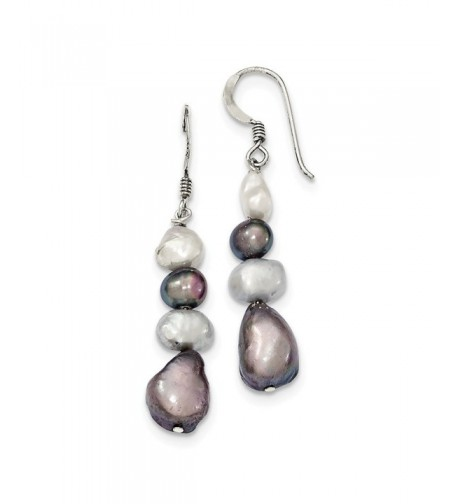 Sterling SIlver Freshwater Cultured Earrings