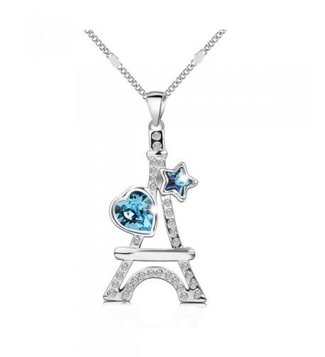 Pealrich Swarovski Necklace Crystals Birthday