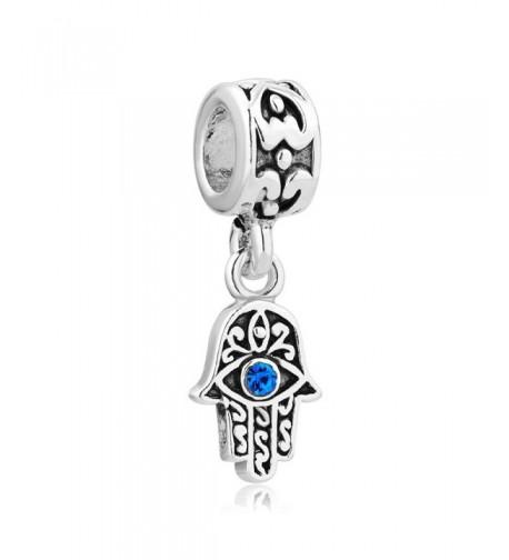 LovelyCharms Sterling Silver Birthstone Bracelets