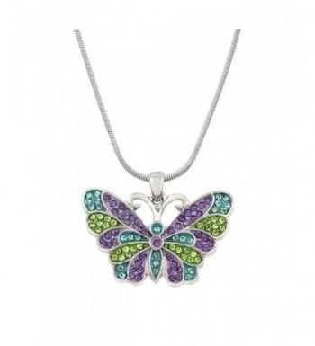 DianaL Boutique Beautiful Silvertone Green Blue