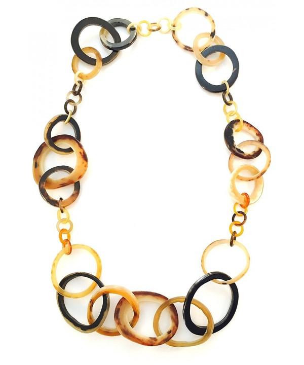 HWK Designs Natural Buffalo Necklace