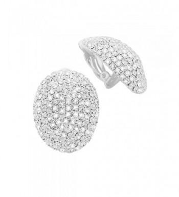 Rosemarie Collections Dazzling Rhinestone Earrings