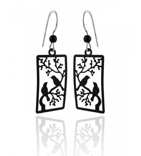 Sienna Painted Earrings Sterling Silver