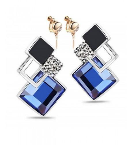 Modogirl Temperament Crystal Unique earrings