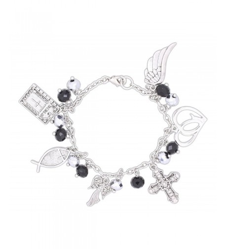 Roman Inspirational Religious Charm Bracelet