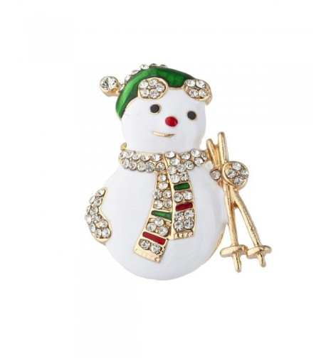 Lux Accessories Christmas Holiday Snowman
