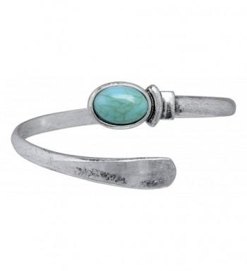 Rain Diameter Silver plated Turquoise Bracelet