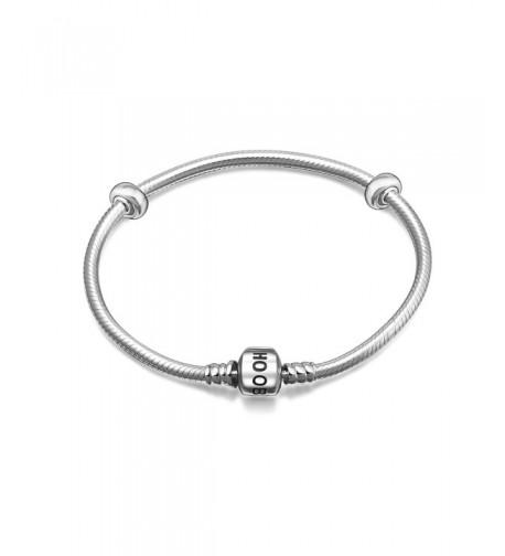 Hoobeads Sterling Silver Bracelet Stopper