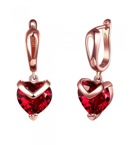 Yozone Shaped Inlaid Diamond Earrings