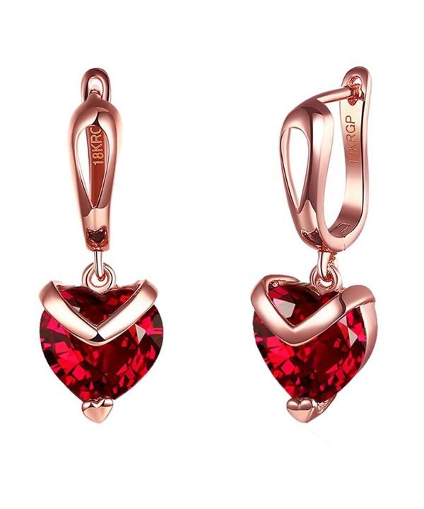 Yozone Shaped Inlaid Diamond Earrings