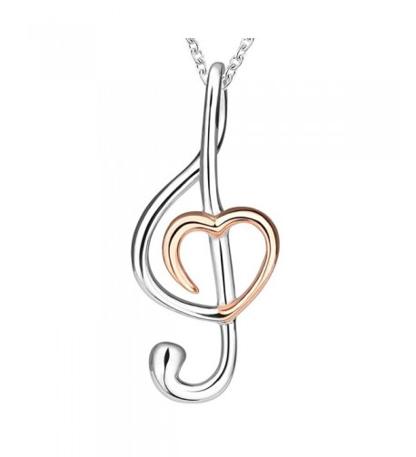 Apotie Sterling musical necklace girlfriend