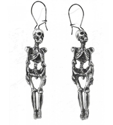 Skeleton Earrings Alchemy Gothic England