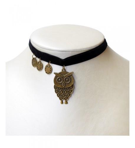 RareLove Vintage Velvet Necklace Pendant