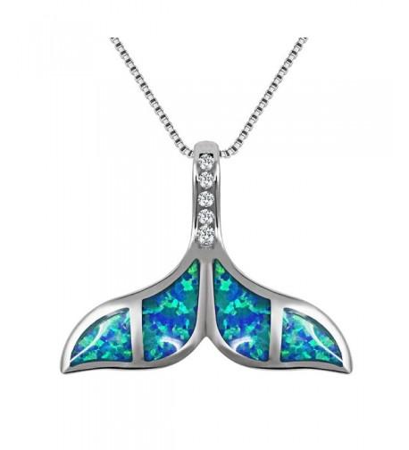 VEMAI Silver Necklaces Whale Pendant
