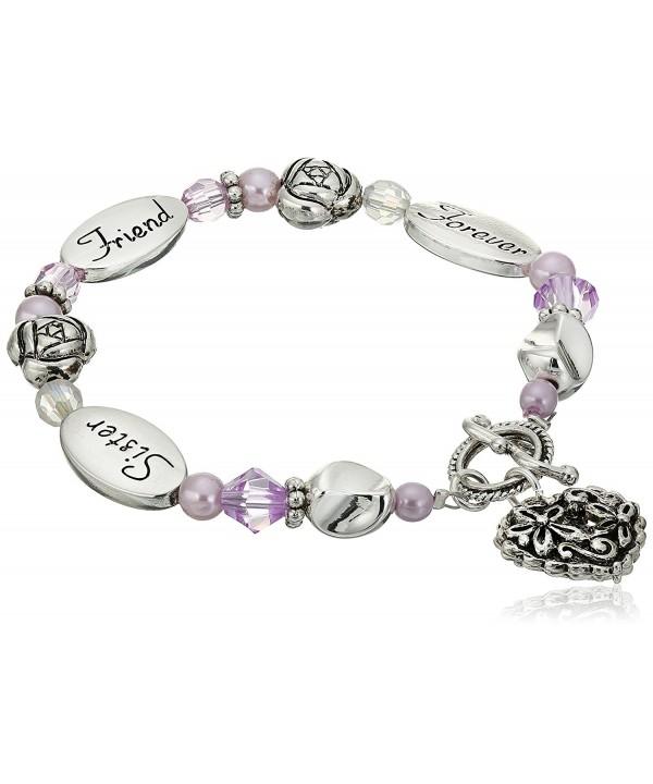 Sister Friend Forever Expressively Bracelet