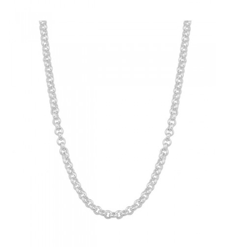 Sterling Silver Rolo Chain inch