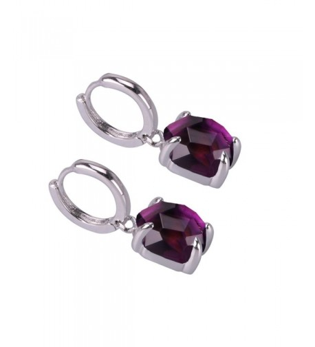 KELITCH Crystal Silver Earrings Fashion