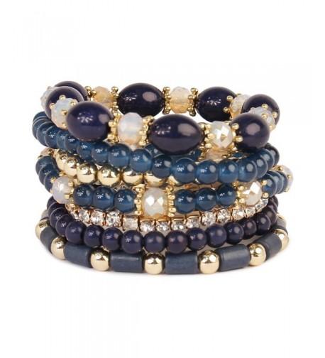Fashion Womens Beaded Stretch Bracelet