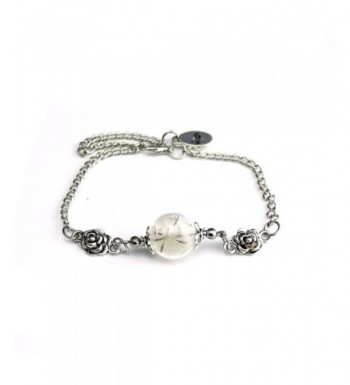 Baishitop Fashion Dandelion Specimens Bracelets