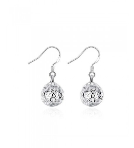 HMILYDYK Genuine Sterling Jewelry Earrings
