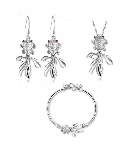 YLR Plated Argentate Goldfish Jewelry
