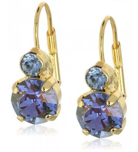 Sorrelli Sapphire Crystal French Earrings